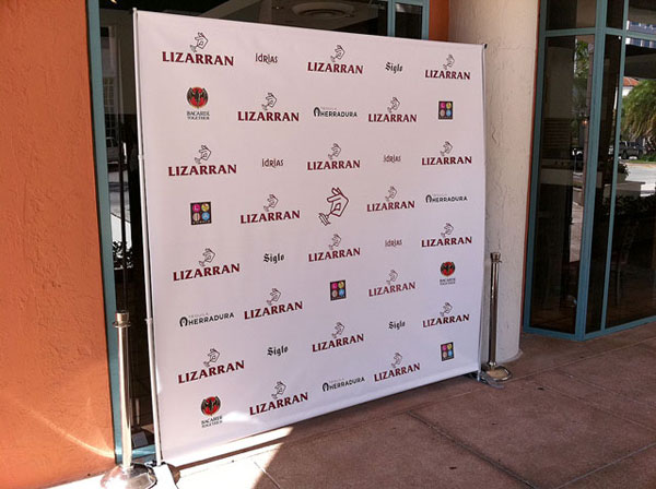 Miami Banner Printing Step And Repeat